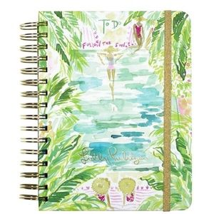"""Undated Lily Pulitzer """"to-do"""" planner"""
